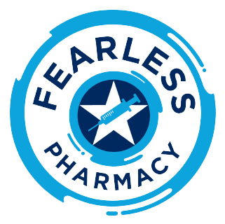 Fearless pharmacy badge
