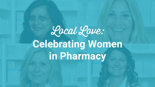 Four women pharmacists