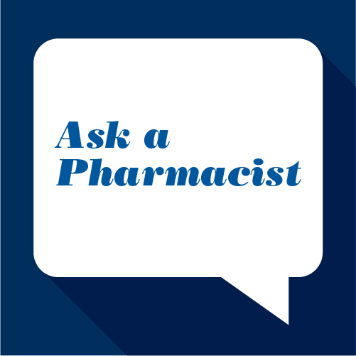 Ask a Pharmacist graphic